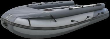 Надувная лодка ПВХ Фрегат 420 Air F с НДНД, фальшбортом и фартуком