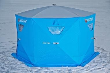 Палатка зимняя не утепленная 6-гранная