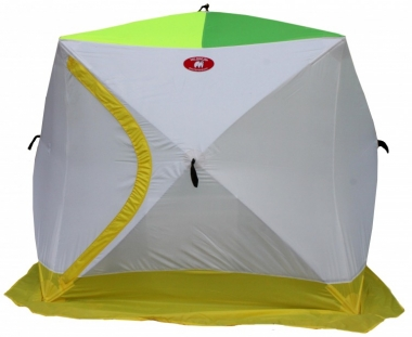 Зимняя 2-х местная палатка «Медведь КУБ-2» (трехслойная)