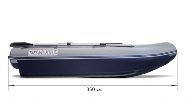 Лодка «ФЛАГМАН - DK 350» НДНД