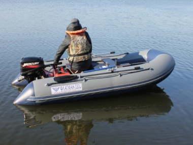 Лодка «ФЛАГМАН - 330U» НДНД