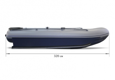 Лодка «ФЛАГМАН - DK 320» НДНД