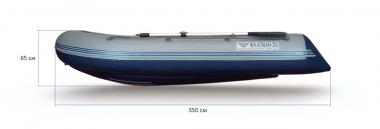 Лодка «ФЛАГМАН - 350» НДНД