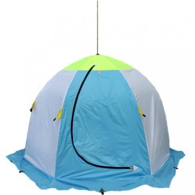 Зимняя 3-х местная палатка «Медведь-3» (трехслойная)
